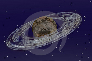 Saturn Stock Image - Image: 8296831