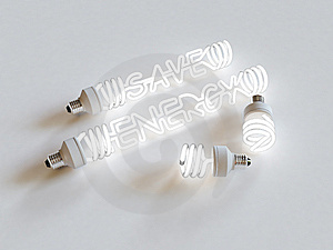 Energy Saving Light Stock Photos - Image: 8297243
