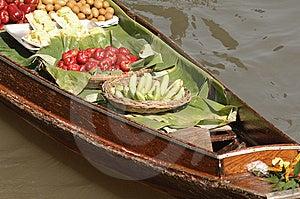 Thailand At Damnoen Saduak Floating Market Stock Images - Image: 8297754