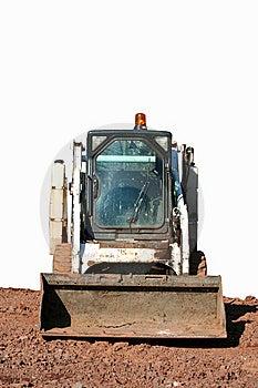 Piccolo Bulldozer Fotografia Stock Libera da Diritti - Immagine: 8298255
