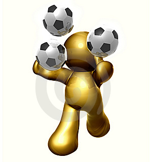 Soccer Guy Royalty Free Stock Photos - Image: 8298608