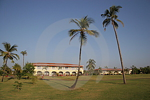 Hotel In Goa Stock Photo - Image: 8299430