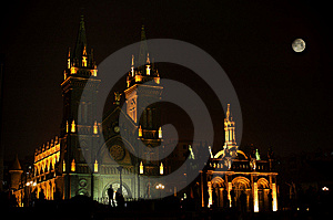 Church Night Royalty Free Stock Photo - Image: 8299815
