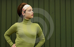 Pretty In Green Stock Images - Image: 835994