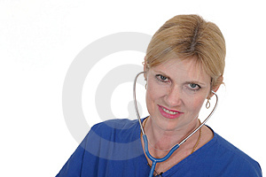 Doctor Or Nurse 17 Stock Image - Image: 836481