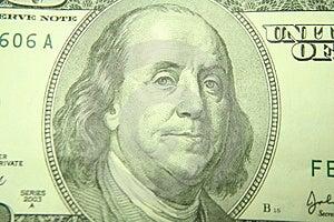 Benjamins Foto de Stock - Imagem: 837220