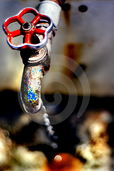 Rusted Sink Royalty Free Stock Photos - Image: 838528