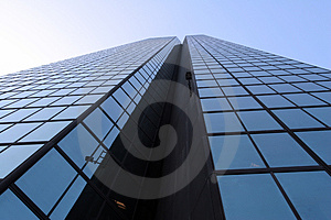 Skyscraper Angle View Royalty Free Stock Photography - Image: 838597
