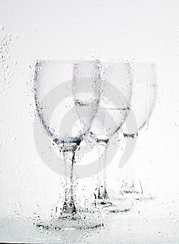 Glasses With Water Royalty Free Stock Photo - Image: 8300115