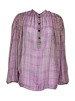 Checker Shirt Loose Jacket Royalty Free Stock Images - Image: 8300199