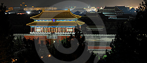Imperial Palace (Gu-gong) Stock Image - Image: 8300421