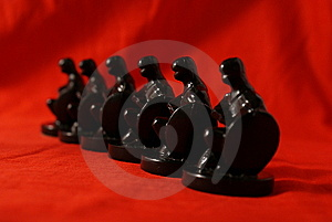 Chess Concept Of Equality Royalty Free Stock Photography - Image: 8300657