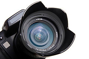 Digital Camera Lens Royalty Free Stock Photos - Image: 8300838