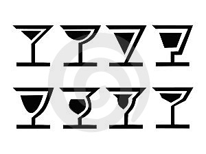 8 Cocktails-Un Image stock - Image: 8300921
