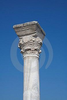 Ancient Column Royalty Free Stock Photo - Image: 8302015