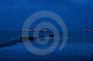 Storm In Black Sea Stock Images - Image: 8302044