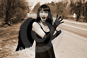 Scream Royalty Free Stock Photos - Image: 8302648
