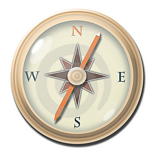 Compass 1 Royalty Free Stock Photo - Image: 8302725