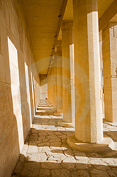 Temple In Egypt Royalty Free Stock Photos - Image: 8303608