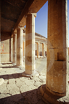 Temple In Egypt Stock Photography - Image: 8303632