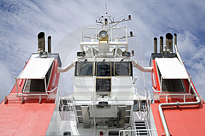 Ship Deck Stock Photography - Image: 8304582