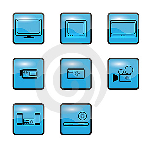 Home Appliances Tv Royalty Free Stock Photos - Image: 8304608