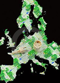 Union Europe Energy Stock Image - Image: 8304801