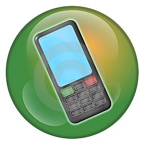 Cellphone Orb 2 Stock Photos - Image: 8305953