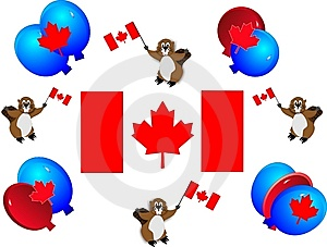 Canadian Celebrations Royalty Free Stock Photos - Image: 8306748