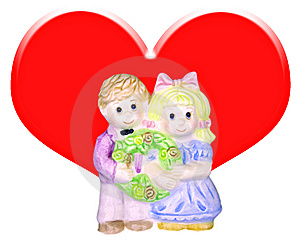 Couple Doll. Royalty Free Stock Photography - Image: 8307347