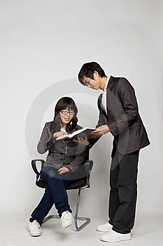 In Office Person Stock Photo - Image: 8307970