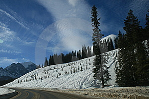 Traveling To Rocky Mountains, Canada Royalty Free Stock Image - Image: 8308376