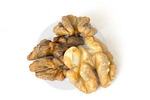 Macro Walnuts Royalty Free Stock Image - Image: 8308636