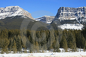 Majesty Of Rocky Mountains, Canada Stock Images - Image: 8308814
