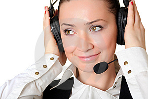 Receptionist Royalty Free Stock Photo - Image: 8309595