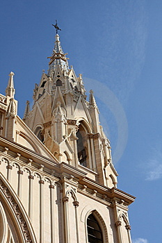 Church Tower ( Malaga , Spain ) Royalty Free Stock Images - Image: 8311619