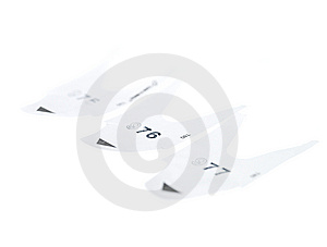 Cue Slips Stock Photo - Image: 8312970