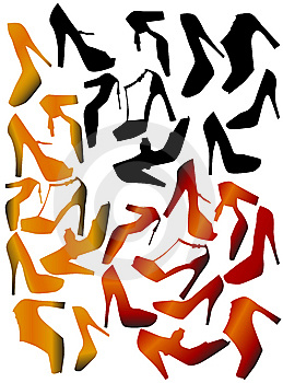 Shoes Vector Royalty Free Stock Images - Image: 8313259