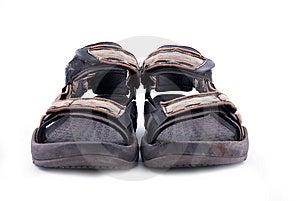 Summer Hiking Shoe Royalty Free Stock Image - Image: 8314456