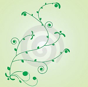 Floral Vector Element For Design. Royalty Free Stock Images - Image: 8316669