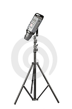 Studio Strobe Isolated On The White Background Royalty Free Stock Photos - Image: 8316748