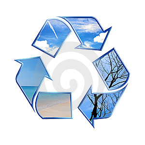 Recycling Symbol Stock Image - Image: 8317681