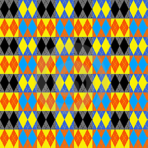 Harlequin Checks Pattern Royalty Free Stock Images - Image: 8317959