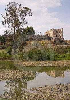 Antipatrus Citadel Stock Image - Image: 8317991