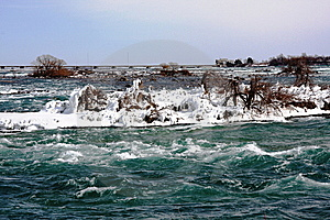 Niagara Falls River In Canada Royalty Free Stock Photography - Image: 8318297