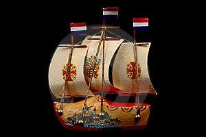 A Souvenir Boat Stock Image - Image: 8318361