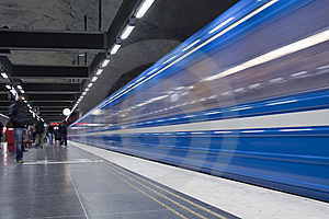 Subway Stock Image - Image: 8318911