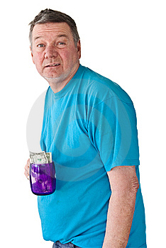 Distraught Mature Man Begging For Money Royalty Free Stock Photography - Image: 8318927