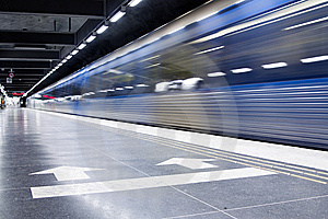Subway Stock Photo - Image: 8318990
