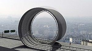 Freeway Loop Royalty Free Stock Image - Image: 8319506